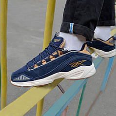 Мужские кроссовки Reebok Dmx Run 10 Blue ( Реплика ) 45 размер