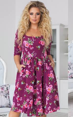 Новинка! платье женское демисезонное размеры:48,50,52,54, фото 2