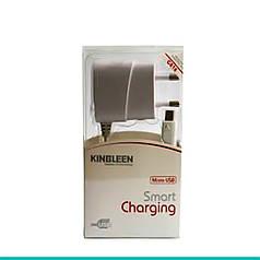 Сетевое зарядное устройство Kingleen MicroUSB С816