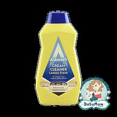 Крем-очиститель от сложных загрязнений Astonish Cream Cleaner с ароматом лимона, 500мл