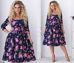 Новинка! платье женское демисезонное размеры:48,50,52,54, фото 3