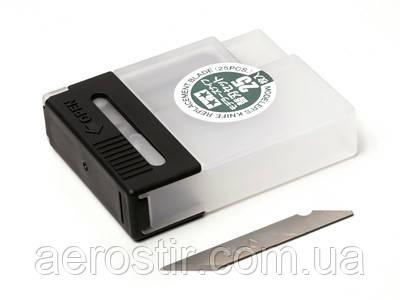 Лезвия для модельного ножа Tamiya 74040, 25 шт
