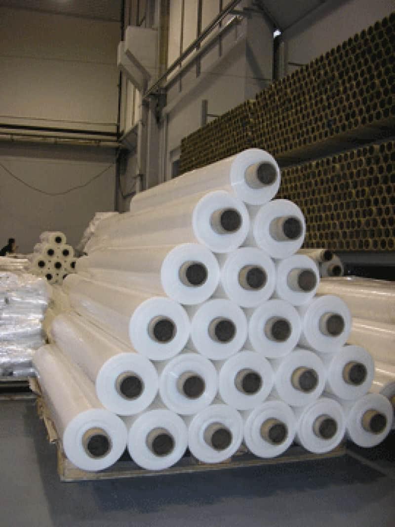 Пленка термоусадочная полотно 2400 мм х 100 мкм