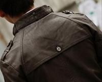 Мужская кожаная куртка. Модель 1895, фото 6