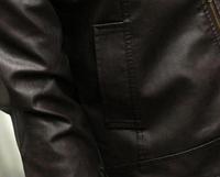 Мужская кожаная куртка. Модель 1895, фото 7