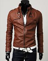 Мужская кожаная куртка. Модель 1895, фото 2