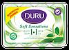 Мыло Duru 1+1 (4*90грам) Зелёный чай экопак