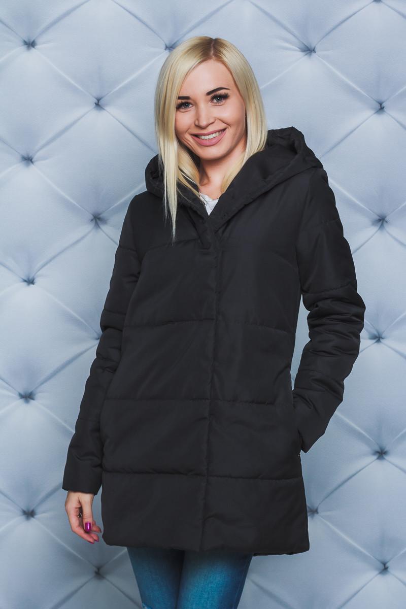Куртка женская демисезон черная