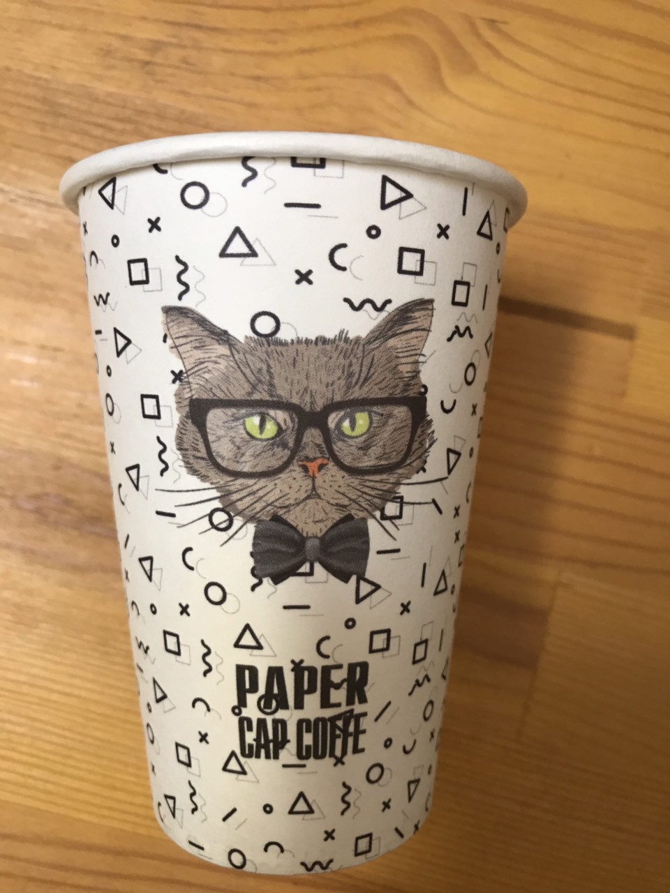 "Стакан бумажный ""Cat"" 340 мл"