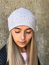 Стильная шапка чулок  ангора 870210, фото 3