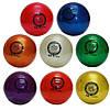 Мяч для художественной гимнастики, д-19см. Цвет синий, с блестками. TA Sport., фото 3