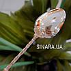 Детская серебряная ложка Пустышка, фото 8
