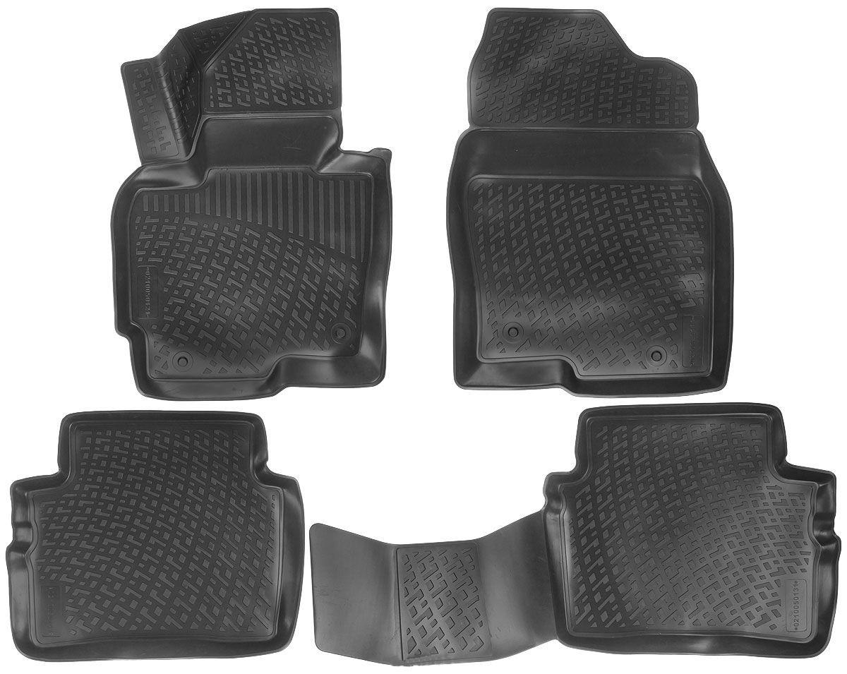 Килимки в салон для Mazda CX-5 (12-) поліуретанові 210050101