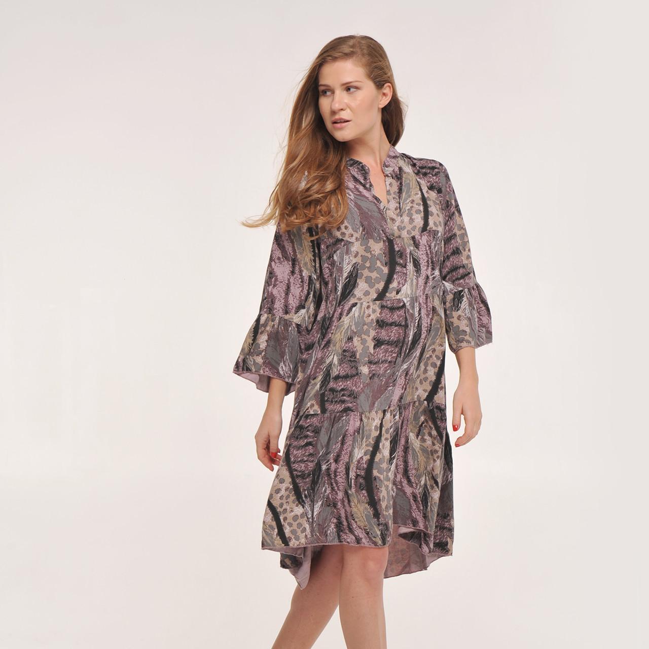 a273d3e15638 Модное платье свободного силуэта - Интернет магазин розничной и оптовой  торговли женской одежды TM Modesty Fashion