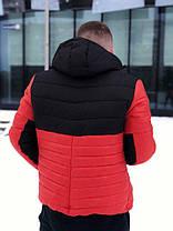 Мужская оранжевая зимняя куртка Nike (реплика), фото 2