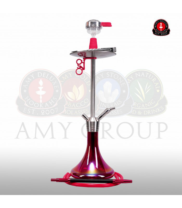 Amy DeLuxe SS 09 R Stick steel Plus, червоний
