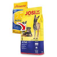 JosiDog (ДжосиДог) Active для взрослых активных собак, 18кг