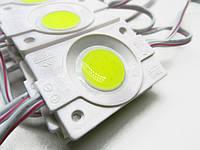 Светодиодный модуль COB 1шт, 46мм Белый