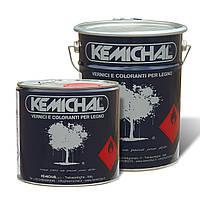 Полиуретановая белая эмаль для дерева МДФ ОPV256BVG20+C336I KEMICHAL (Италия) шелковисто-матовая (5кг+2.5л)