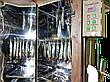 Коптильня 550л -холодного и горячего копчения, +просушка. Нержавейка внутри, крыша домиком, фото 6