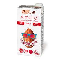 Молоко растительное органическое миндальное без сахара «Ecomil», 1 л