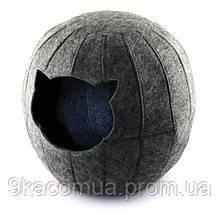 Домик для кошки Шар с подушкой Digitalwool