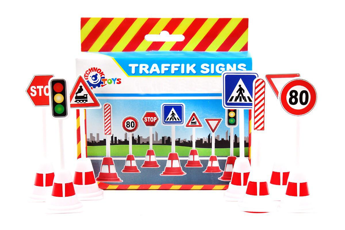 Дорожні знаки Технок 4357, в коробці