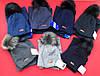 Детский зимний набор  шапка + хомут  в расцветках 870671, фото 5