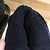 Женские резиновые  сапоги, полу сапоги с утеплителем черные, фото 5