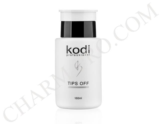 Жидкость для снятия искусственных ногтей Kodi Tips Off (160 мл)