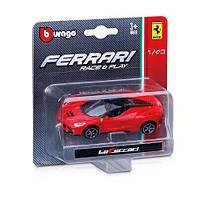 Автомодель Bburago Ferrari металлическая 1:64 в асс. (18-56000)
