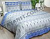 Комплект постельного белья Полуторный, бязь 100% хлопок, Турецкие мотивы