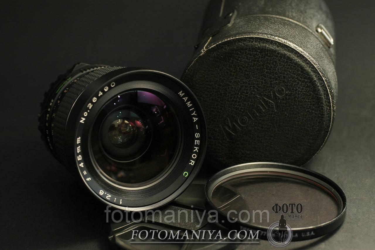 Mamiya-Sekor C 45mm f2.8 для Mamiya 645