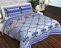 Комплект постельного белья Полуторный, бязь 100% хлопок, Банты