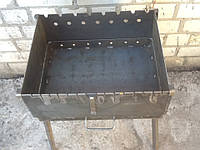 Мангал разборный на 6 шампуров сталь 2мм