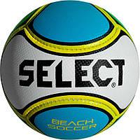Мяч футбольный SELECT Beach Soccer синий (уценка), размер 5, фото 1