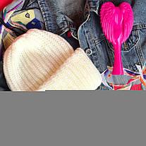 Стильная шапка ангора 870697, фото 3