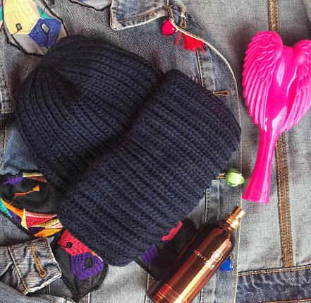 Стильная шапка ангора 870697, фото 2