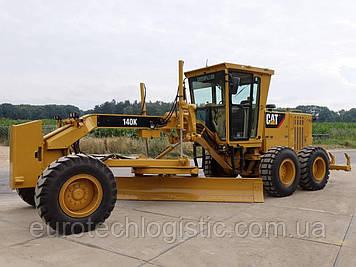 Грейдер Caterpillar 140K Ripper Pushblock