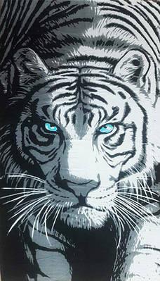 Полотенце пляжное Tigr
