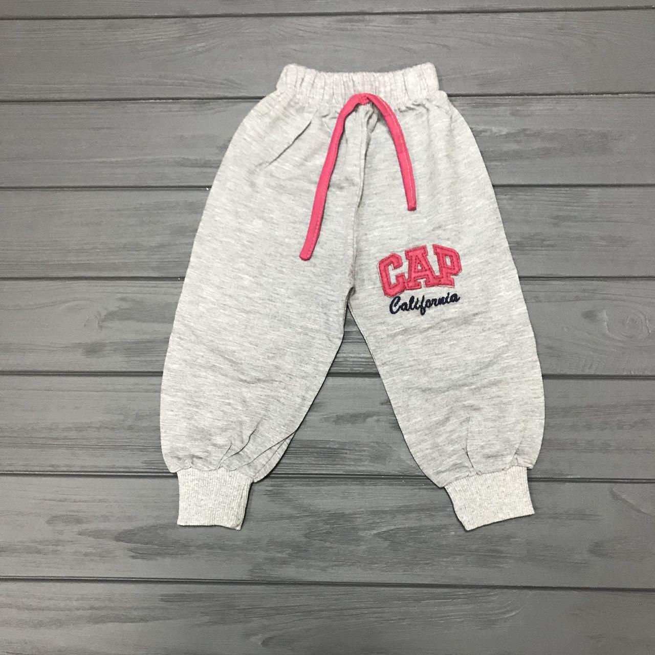 Спортивные штаны  для девочек оптом р.1-4 года