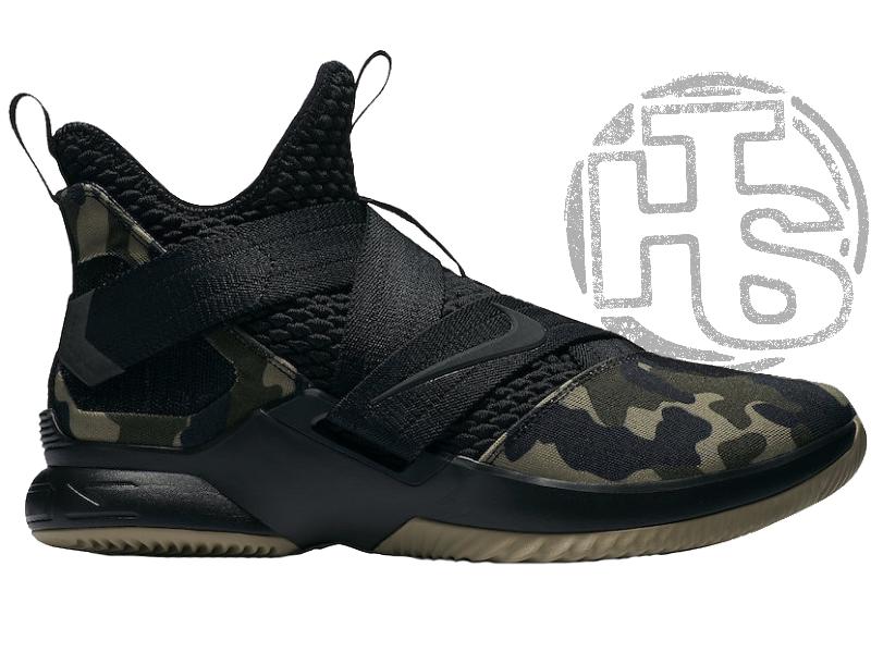 Мужские кроссовки Nike LeBron Soldier 12 SFG Camo AO4054-001
