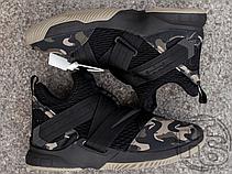 Мужские кроссовки Nike LeBron Soldier 12 SFG Camo AO4054-001, фото 3