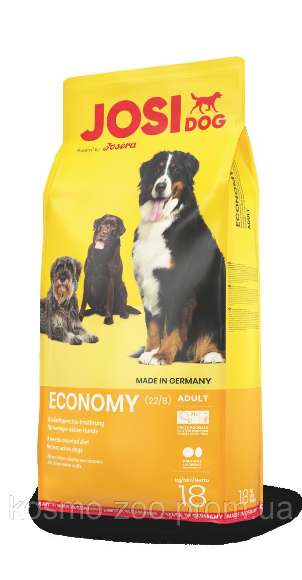 Корм Josera Economy   для взрослых собак всех пород (Йозера ЙозиДог Эконом), 18 кг