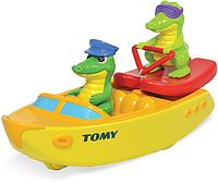 Игровой набор для ванной Tomy Крокодил на водных лыжах (T72358)