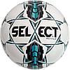 Детский футбольный мяч SELECT Royal бело-серо-бирюзовый, размер 4