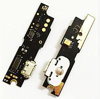 Шлейф для Meizu M3 Note (L681H), с разъемом зарядки, с микрофоном, плата зарядки, с кнопкой меню, версия:1.0