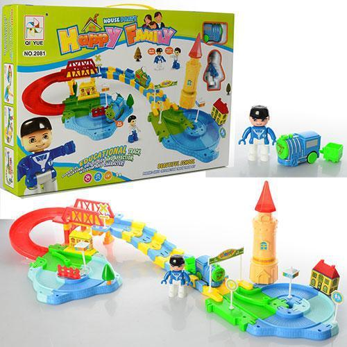 Залізниця 2081, локомотив, в коробці 48-41-17,5см