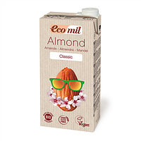 Молоко растительное органическое миндальное классическое «Ecomil», 1 л