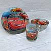 Набор детской посуды (тачки) маквин